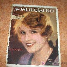Coleccionismo de Revistas y Periódicos: MUNDO GRÁFICO REVISTA POPULAR ILUSTRADA. LILY DAMITA . 30 MAYO 1929. Lote 22221365