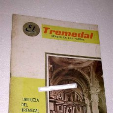 Coleccionismo de Revistas y Periódicos: EL TREMEDAL, REVISTA DE FIESTAS. ORIHUELA DEL TREMEDAL, 1967. ANUNCIOS, FOTOS. TERUEL.. Lote 24308718