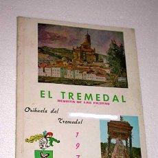 Coleccionismo de Revistas y Periódicos: EL TREMEDAL, REVISTA DE FIESTAS. ORIHUELA DEL TREMEDAL, 1970. ANUNCIOS, FOTOS. TERUEL.. Lote 24308720