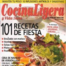 Coleccionismo de Revistas y Periódicos: COCINA LIGERA Y VIDA SANA. Nº 65. 2005. Lote 18586084