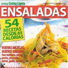 Coleccionismo de Revistas y Periódicos: EXTRA COCINA LIGERA. ENSALADAS. Nº 23.. Lote 18586360