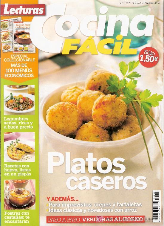 Lecturas cocina facil platos caseros n 144 comprar - Revista cocina facil lecturas ...