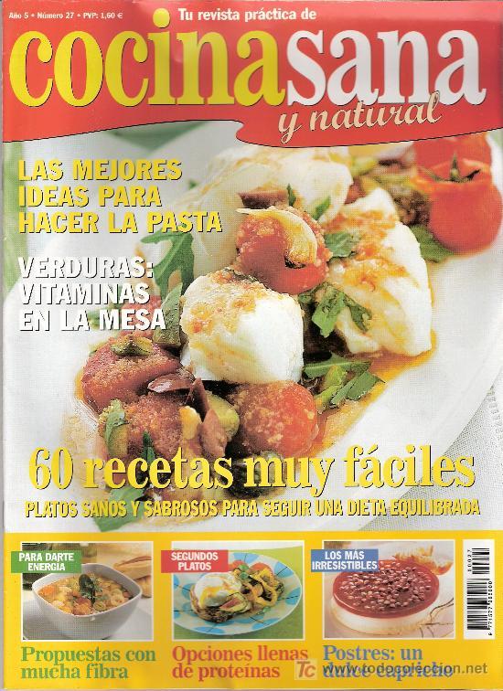 cocina sana y natural. año 5. nº 27. - Comprar Otras revistas y ...