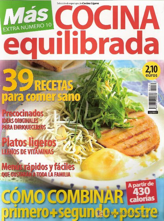 COCINA EQUILIBRADA. MÁS. EXTRA Nº 10. (Coleccionismo - Revistas y Periódicos Modernos (a partir de 1.940) - Otros)