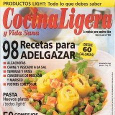 Coleccionismo de Revistas y Periódicos: COCINA LIGERA Y VIDA SANA. Nº 58.. Lote 18587181
