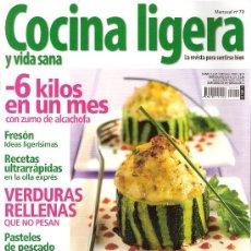 Coleccionismo de Revistas y Periódicos: COCINA LIGERA Y VIDA SANA. Nº 70.. Lote 18599191