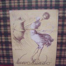 Coleccionismo de Revistas y Periódicos: NUEVO MUNDO - Nº 1524 - 1923 - PORTADA :VAZQUEZ CALLEJA. Lote 18706253