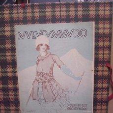 Coleccionismo de Revistas y Periódicos: NUEVO MUNDO - Nº 1521 - 1923 - PORTADA : JUAN LUIS. Lote 18706993