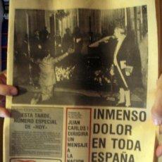 Coleccionismo de Revistas y Periódicos: DIARIO HOY. NOVIEMBRE DE 1975, DEDICADO A LA MUERTE DE FRANCO. Lote 27512220