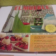 Coleccionismo de Revistas y Periódicos: REVISTA EL MUEBLE Nº78 JUNIO 1968. Lote 26620670
