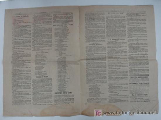 Coleccionismo de Revistas y Periódicos: GEDEON. SEMANARIO SATÍRICO. 30 DE DICIEMBRE DE 1897. Nº 112. 40 X 28 CM. - Foto 2 - 18832301