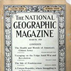 Collezionismo di Riviste e Giornali: REVISTA EN INGLES THE NATIONAL GEOGRAPHIC 1918 ANDORRA-LLIVIA-PUIGCERDA-LA SEO D´URGEL VER FOTOS. Lote 18806870