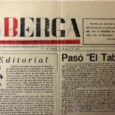 Coleccionismo de Revistas y Periódicos: PERIDICO BERGA 12 MAYO 1945. Lote 18856945