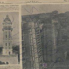 Coleccionismo de Revistas y Periódicos: ABC AÑO 1904 TORRE DEL TIBIDABO AGUAS DE BARCELONA PUENTE EN ALCOY VILLAGARCIA DE AROUSA PONTEVEDRA. Lote 18896595