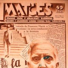 Coleccionismo de Revistas y Periódicos: REVISTA IMATGES Nº 17 SE PUBLICARON SOLO 25 NUMEROS RARA 01/10/1930 MACIA VER FOTOS Y DESCRIPCION . Lote 18924575