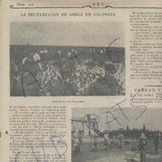 Coleccionismo de Revistas y Periódicos: ABC AÑO 1904 ORFEON DE ZAMORA EL DUERO NAVA DEL REY VALLADOLID ARROZ ALBUFERA VALENCIA USANDIZAGA. Lote 18960122