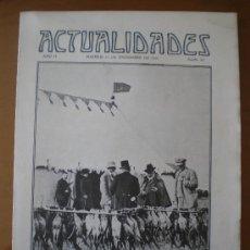 Coleccionismo de Revistas y Periódicos: ACTUALIDADES Nº 96 (15/12/09) CRUZ ROJA SANTIAGO MALAGA MORET CORDOBA ALGECIRAS DIRIGIBLE FERROL FAR. Lote 26807196