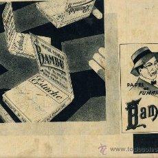 Colecionismo de Revistas e Jornais: BAMBU 1933 PAPEL DE FUMAR HOJA REVISTA. Lote 19001520