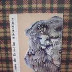 Coleccionismo de Revistas y Periódicos: INSTITUTO DE ESTUDIOS ALICANTINOS - Nº 40 - 1983 - ILUSTRADO. Lote 19020324