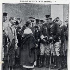 Coleccionismo de Revistas y Periódicos: MELILLA 1917 ALFONSO XIII HOJA REVISTA. Lote 19030929