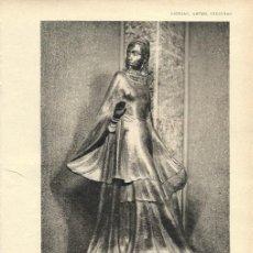 Coleccionismo de Revistas y Periódicos: EXPOSICIÓN DE ARTE MODERNO BELGA II: ESCULTURA Y GRABADO ( A. COLLINS, JULES DE BRUYCKER...)- 1928. Lote 19112820