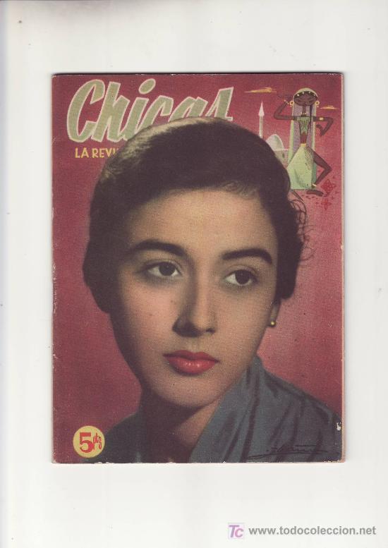 CHICAS 2ª EPOCA.Nº206 1954. ESTA Y MAS REVISTA DE COLECCION EN RASTRILLOPORTOBELLO (Coleccionismo - Revistas y Periódicos Modernos (a partir de 1.940) - Otros)