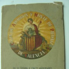 Coleccionismo de Revistas y Periódicos: CAJA DE AHORROS Y MONTE DE PIEDAD DE VALENCIA - AÑO 1953. Lote 27161399