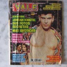 Coleccionismo de Revistas y Periódicos: VALE -MARTA SANCHEZ,MADONNA LAS ESCENAS MAS CALIENTES-ALEJANDRO SANZ,CUESTIONARIO INTIMO Y POSTER.. Lote 24876258
