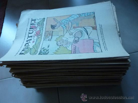 LOTE DE 84 REVISTAS CATALANAS. EL PATUFET. DE 1923 A 1935. ESPECTACULAR LOTE EN CATALÀ. (Coleccionismo - Revistas y Periódicos Antiguos (hasta 1.939))