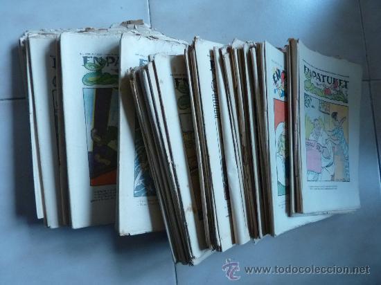 Coleccionismo de Revistas y Periódicos: Lote de 84 revistas catalanas. El patufet. De 1923 a 1935. Espectacular lote en català. - Foto 2 - 25860074