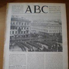 Coleccionismo de Revistas y Periódicos: ABC Nº 108 (12/05/04) MELILLA CEUTA CADIZ HUELVA SEVILLA GONZALEZ DE LINARES PARDO BAZAN BILBAO . Lote 24461986