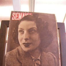 Coleccionismo de Revistas y Periódicos: REVISTA SEMANA 10 FEBRERO 1942. Lote 26729976