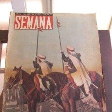 Coleccionismo de Revistas y Periódicos: REVISTA SEMANA 2 DE ABRIL 1940. Lote 25749460