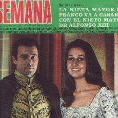 Collezionismo di Riviste e Giornali: SEMANA Nº 1658 AÑO1971.SE DICE QUE..LA NIETA DE FRANCO SE CASA -COLECCIONISMO EN RASTRILLOPORTOBELLO. Lote 27370918
