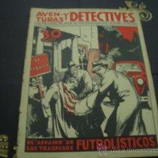Coleccionismo de Revistas y Periódicos: AVENTURAS Y DETECTIVES - PIDEME TUS FALTAS-. Lote 19454657