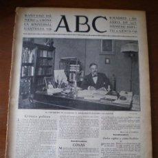 Coleccionismo de Revistas y Periódicos: ABC Nº 14 (02/04/03) CARRACA CADIZ SANTANDER TRANVIA MATADERO LEON VALENCIA SUBMARINO ISAAC PERAL. Lote 36976827