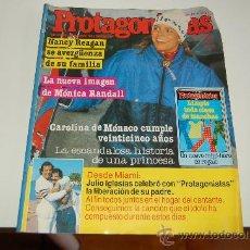 Coleccionismo de Revistas y Periódicos: CAROLINA DE MÓNACO, JULIO IGLESIAS, MONICA RANDALL, CHICHO IBÁÑEZ SERRADOR ( UN, DOS, TRES...). Lote 20716201