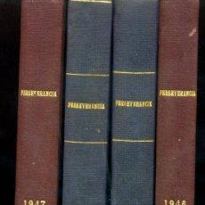 Coleccionismo de Revistas y Periódicos: REVISTAS ENCUADERNADAS-PERSEVERANCIA( O.E.P. ) AÑOS 1946-1947-1948 Y 1950 . Lote 26332898