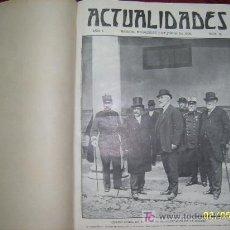 Coleccionismo de Revistas y Periódicos: ACTUALIDADES ( DEL 16 AL 46) .TODO UNA JOYA.!!!!. Lote 26206021