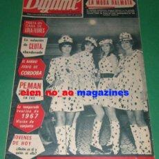 Coleccionismo de Revistas y Periódicos: DIGAME 1453/1967 JOSE MARIA PEMAN~LOLA FLORES~INKA MARTI MISS CATALUÑA~MATILDE REVENGA SOPRANO OPERA. Lote 178277452
