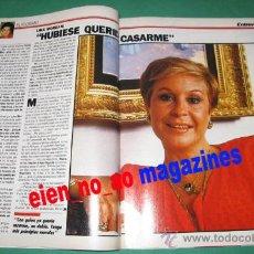 Coleccionismo de Revistas y Periódicos: EPOCA 141/1987 LINA MORGAN~AJEDREZ~MIGUEL DELIBES~VANESSA REDGRAVE~1ER CONCIERTO POP EN ESPAÑA. Lote 25988264