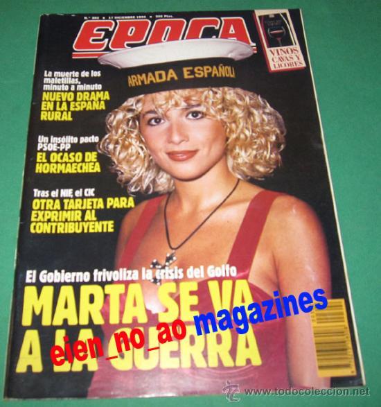 EPOCA 302/1990 MARTA SANCHEZ~COCO CHANEL (Coleccionismo - Revistas y Periódicos Modernos (a partir de 1.940))