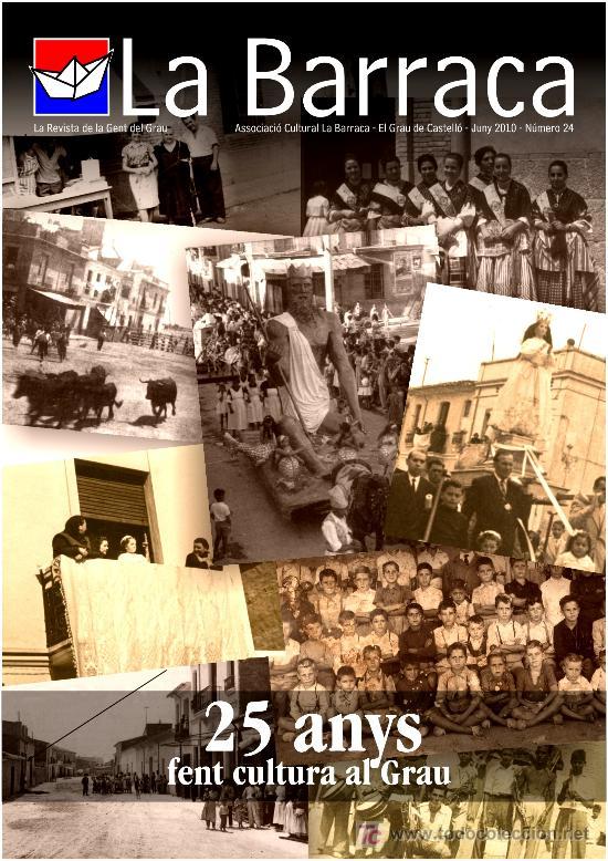 REVISTA LA BARRACA -NUMERO 24 - GRAO DE CASTELLÓN (Coleccionismo - Revistas y Periódicos Modernos (a partir de 1.940))