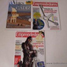 Coleccionismo de Revistas y Periódicos: LOTE 3 REVISTAS. Lote 20093825