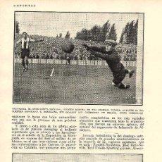 Coleccionismo de Revistas y Periódicos: *DEPORTES * FÚTBOL: BARCELONA, SEVILLA, BETIS. GOLF CLUB DE NEGURI, ZAMORA...- 1929. Lote 39726113