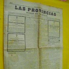 Coleccionismo de Revistas y Periódicos: LAS PROVINCIAS. DIARIO DE VALENCIA. 18 OCTUBRE 1930. Lote 195363487