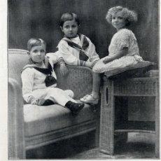 Coleccionismo de Revistas y Periódicos: INFANTA MARIA CRISTINA 1913 HOJA REVISTA. Lote 20741221