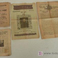 Coleccionismo de Revistas y Periódicos: LOTE REVISTAS CATALANAS ANTIGUAS. PLA DE BAGES MANRESA, STRAVCH, L'AURENETA, REVISTA ILUSTRDA JORBA.. Lote 29521985