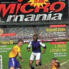 Coleccionismo de Revistas y Periódicos: REVISTA MICRO MANIA .NUMERO 22 AÑO XII -TERCERA EPOCA.. Lote 25671688