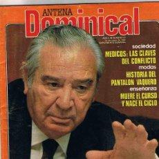 Coleccionismo de Revistas y Periódicos: REVISTA ANTENA DOMINICAL - SUPLEMENTO SEMANAL - Nº 22 - 24 MAYO 1981. Lote 23922353